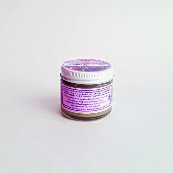 Organic Lavender Rose Coconut Spa Kit
