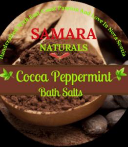 "Cocoa Peppermint ""Energizing"" Epson Bath Salts"