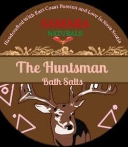 """Sage Lemon Balm Men Bath Salts"""" The Huntsman"""""""