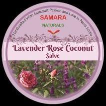 "Lavender Rose Coconut ""Mature Skin"" All Purpose Salve"