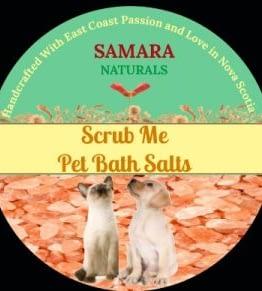 "Pet Scrub ""Itch Relief""Bath Salts"