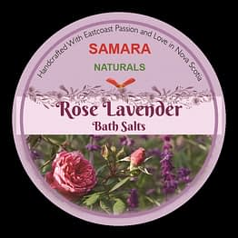 "Rose/Lavender ""Flower All Purpose"" Bath Salts"